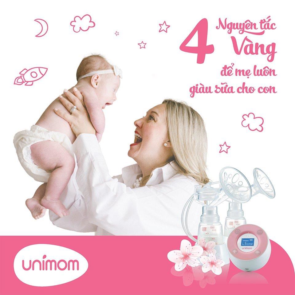 4 Nguyên tắc vàng để mẹ luôn luôn giàu sữa cho bé
