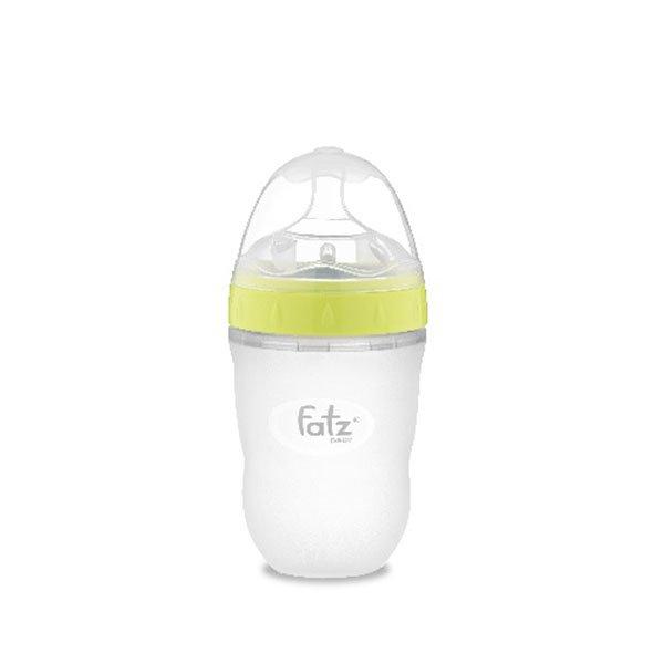 Bình sữa Silicon Fatz Baby 180ml FB0180C-X - Màu Xanh