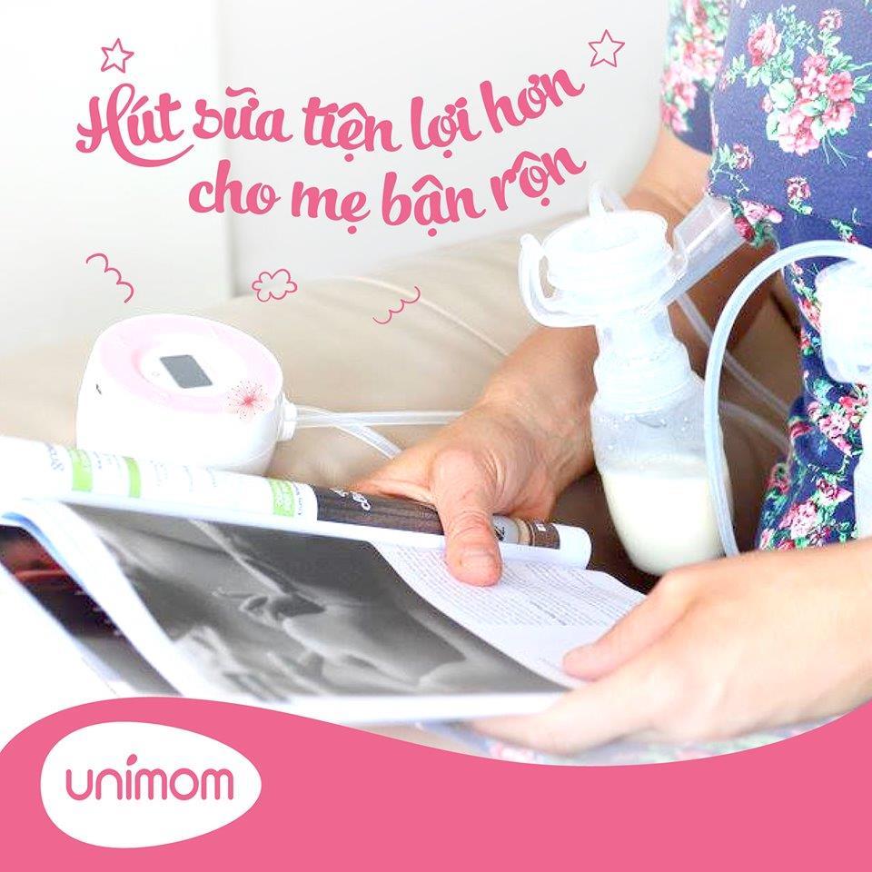 Khi nào mẹ nên lựa chọn máy hút sữa điện đôi Unimom Minuet LCD?