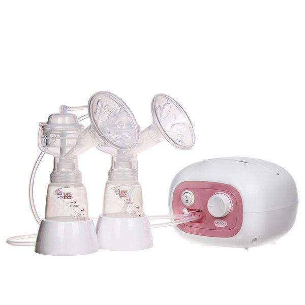 Máy hút sữa điện đôi Unimom Forte