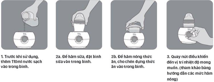 Hướng dẫn sử dụng máy hâm sữa cho bình cổ siêu rộng Fatz Baby FB3027SL
