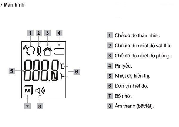 Nhiệt kế hồng ngoại không cần tiếp xúc Hubdic Thermofinder Plus - HDFS1000
