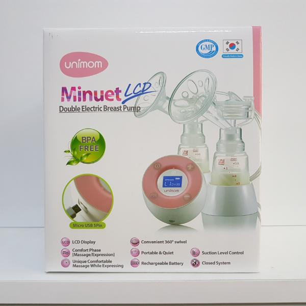 Máy hút sữa điện đôi Unimom Minuet UM872019