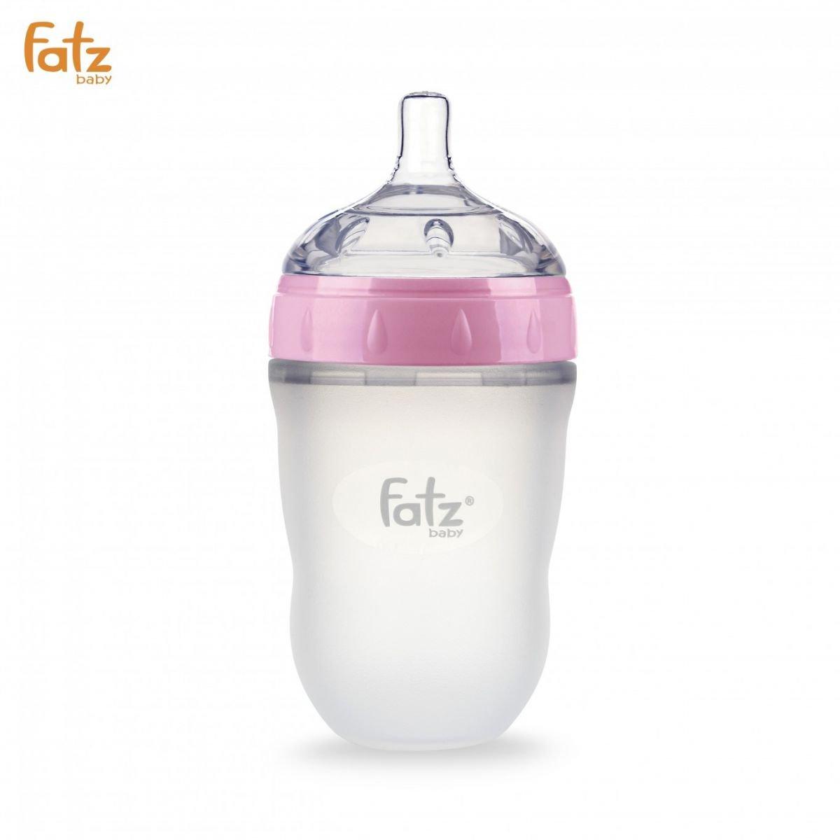 Bình sữa Silicon Fatz Baby 240ml FB0240C